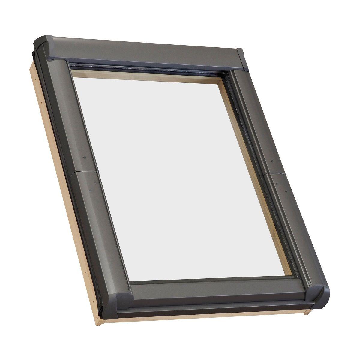 Ventanas para tejado roto designo r45 carpinteria aluminio for Ventanas aluminio gris antracita