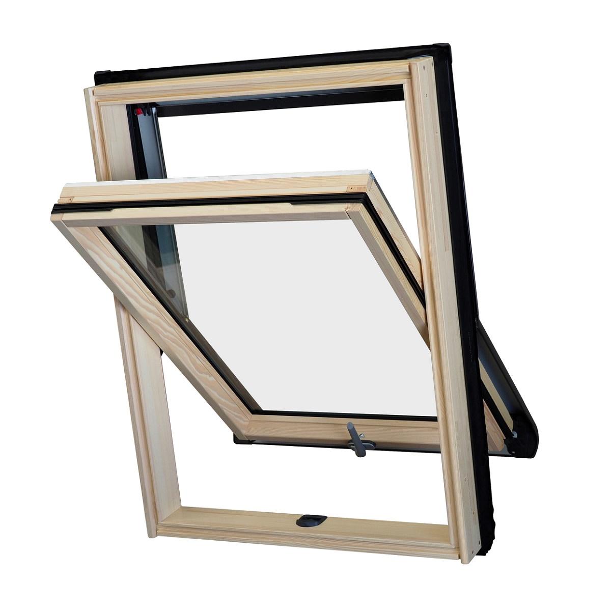 Ventanas Para Tejado Roto Designo R45 Carpinteria Aluminio ~ Cortinas Para Ventanas De Tejado