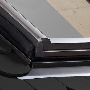 carpintería aluminio - tapajuntas plano